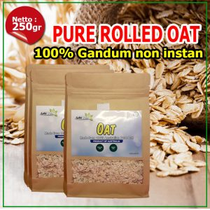 Pure rolled oat